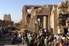 Many tourists at The Temple of Kom-Ombo